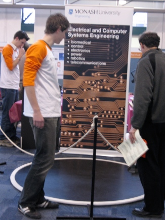 Demonstrating Fuzzy Logic at the Monash open day